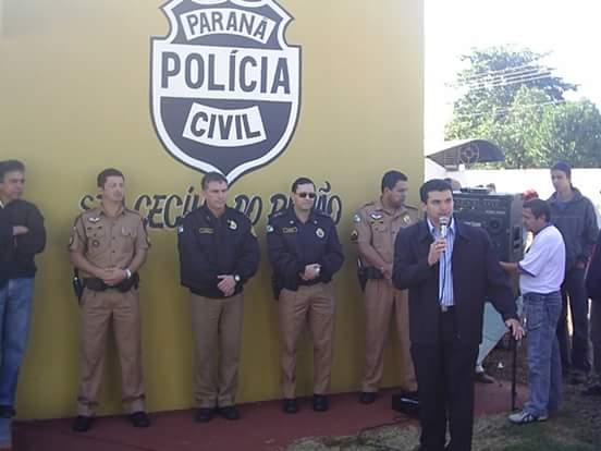 Resultado de imagem para imagem prédio da delegacia de polícia em santa cecília do pavão